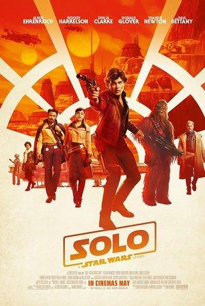 plakat filmu Han Solo: Gwiezdne wojny - historie. Ron Howard