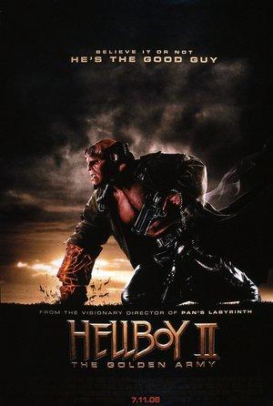 plakat filmu Hellboy: Złota armia