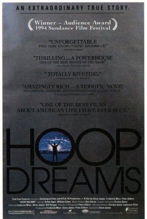 plakat filmu Hoop Dreams