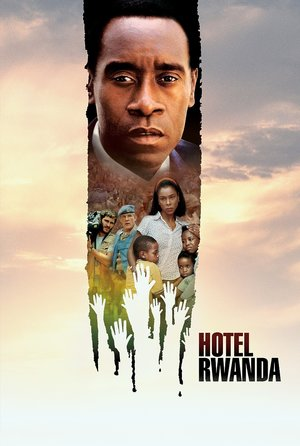 plakat filmu Hotel Rwanda, Terry George