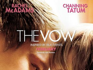 plakat filmu I że cię nie opuszczę, The Vow, Channing Tatum, Rachel McAdams