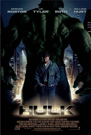 plakat filmu Incredible Hulk