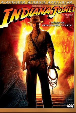 plakat filmu Indiana Jones i Królestwo Kryształowej Czaszki. Imperial Cinepix