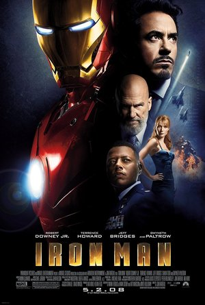 plakat filmu Iron Man, Robert Downey Jr