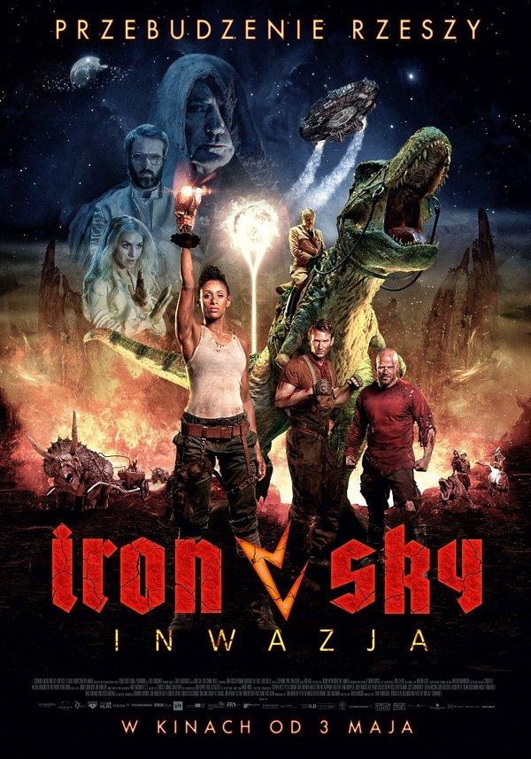 plakat filmu Iron Sky: Inwazja