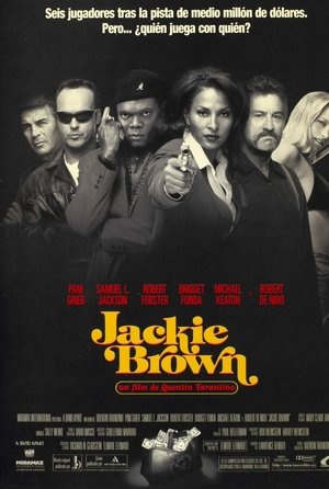 plakat filmu Jackie Brown