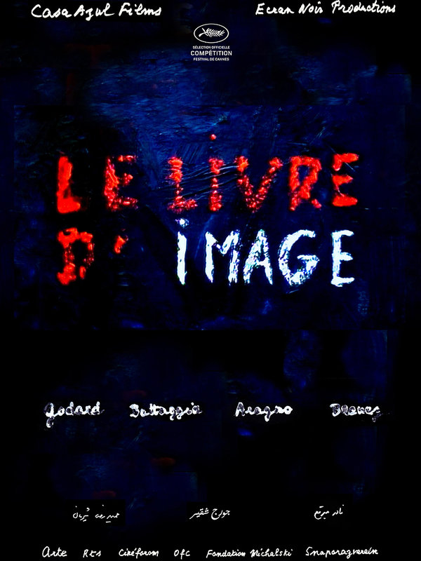 plakat filmu Jean-Luc Godard. Imaginacje.