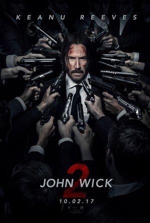 plakat filmu John Wick 2. Monolith Films