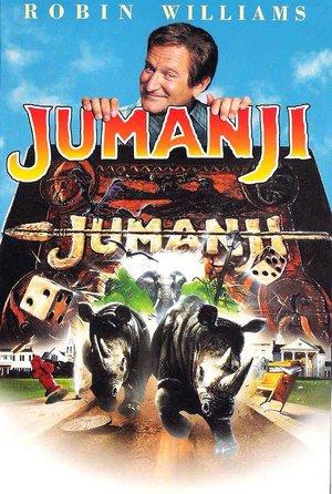 plakat filmu Jumanji. Joe Johnston
