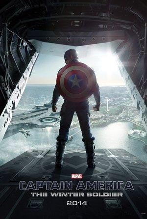 plakat filmu kapitan Ameryka: Zimowy żołnierz