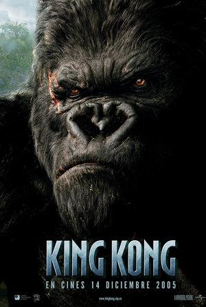 plakat filmu King Kong 2005. Peter Jackson