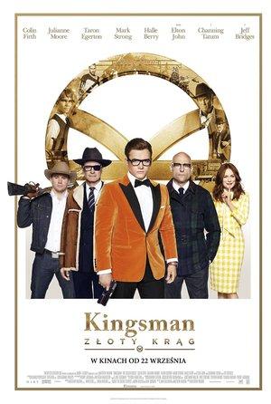 plakat filmu Kingsman. Złoty krąg. Imperial Cinepix
