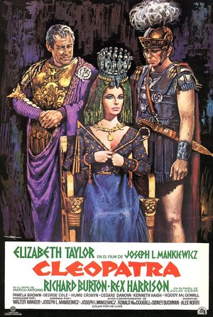 plakat filmu Kleopatra