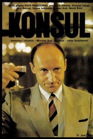 plakat filmu Konsul. Piotr Fronczewski