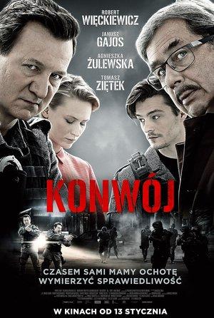plakat filmu Konwój