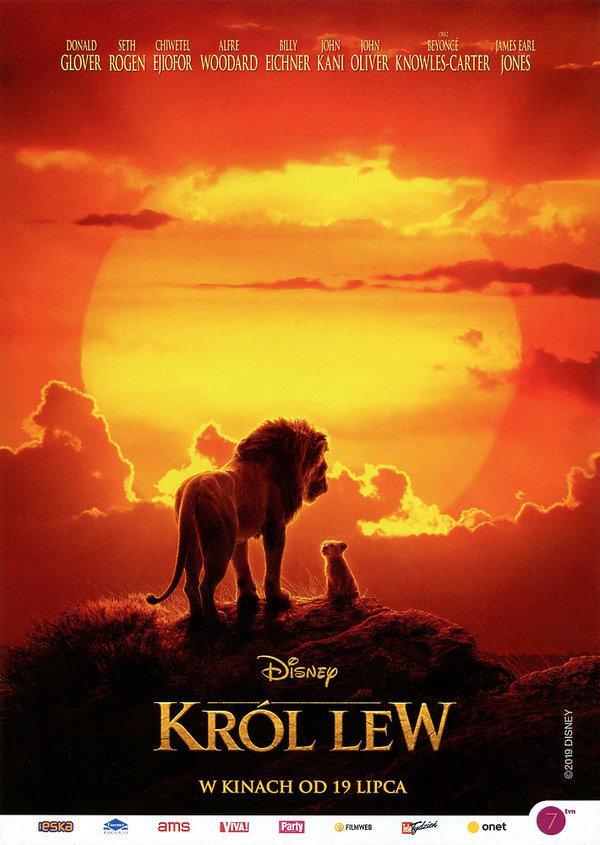 plakat filmu Król lew