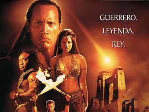 plakat filmu Król Skorpion