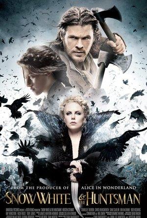 plakat filmu Królewna Śnieżka i Łowca