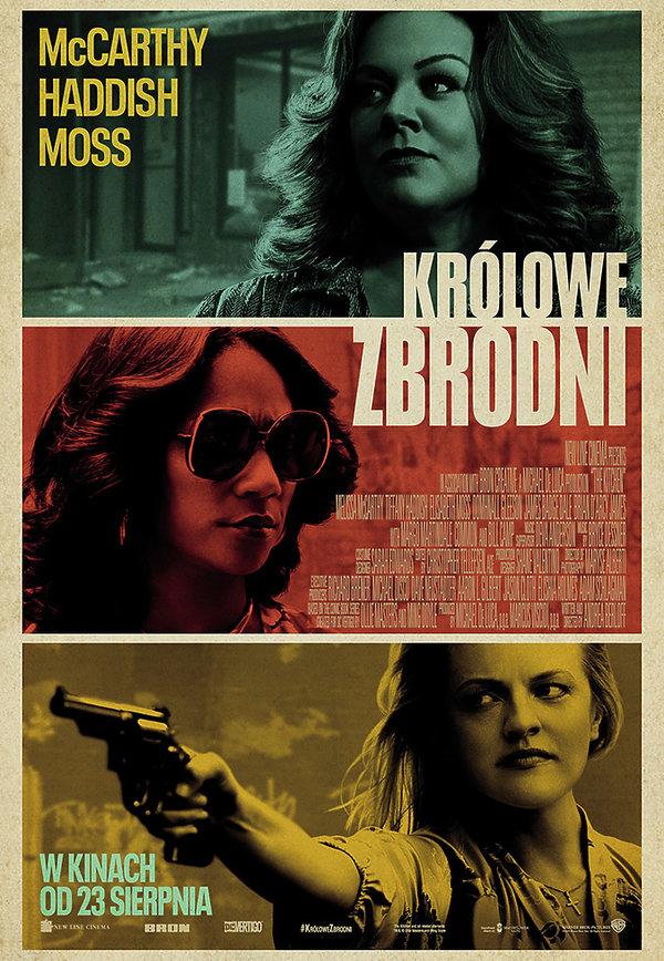 plakat filmu Królowe zbrodni