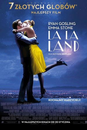 plakat filmu La La Land. Monolith Films