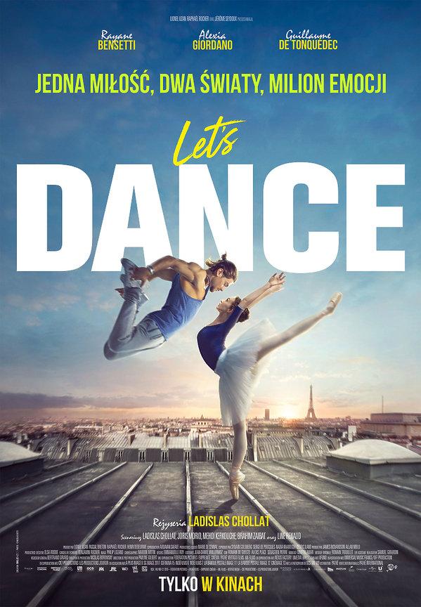 plakat filmu Let's Dance