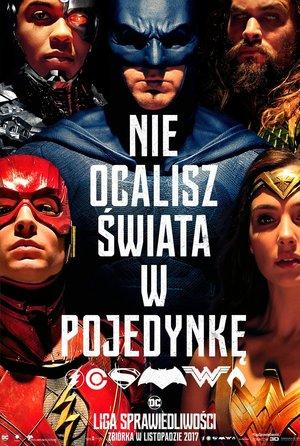 plakat filmu Liga sprawiedliwości, Justice league