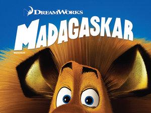 plakat filmu Madagaskar. Imperial Cinepix