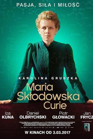 plakat filmu Maria Skłodowska-Curie