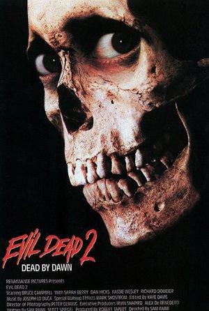 plakat filmu Martwe zło 2, reż. Sam Raimi