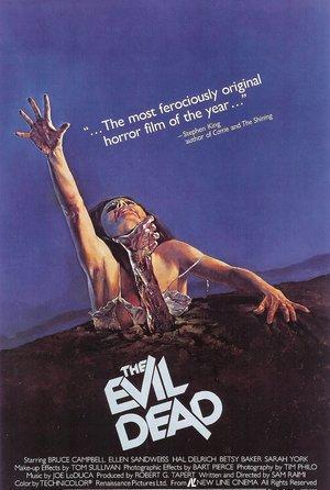 plakat filmu Martwe zło, reż. Sam Raimi