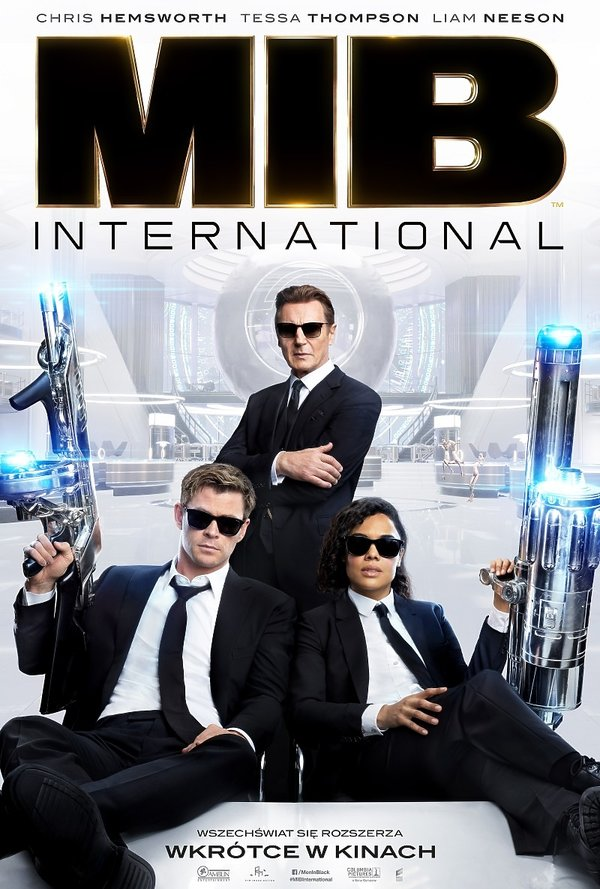plakat filmu Men in Black International