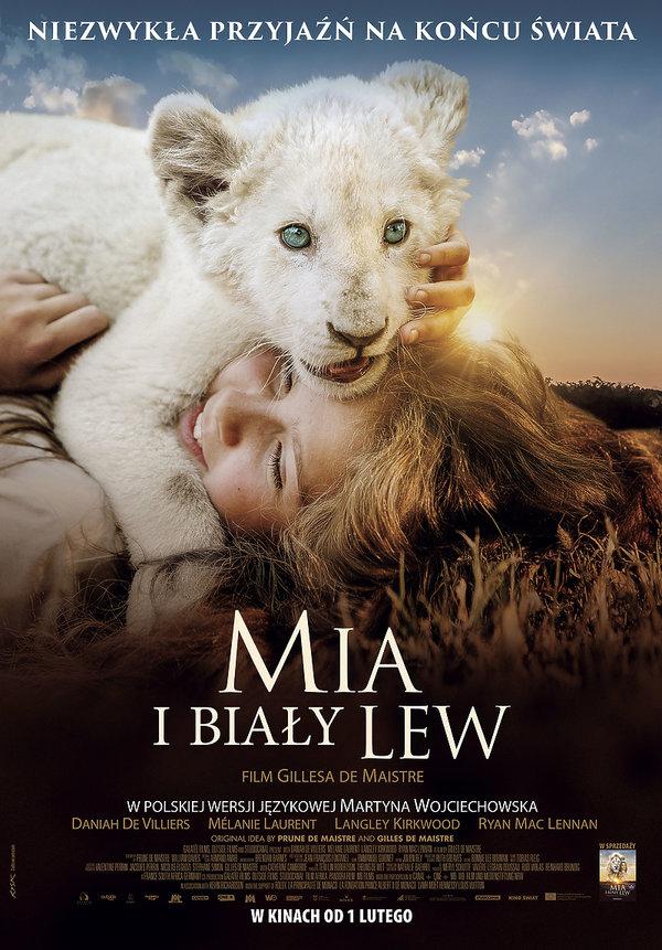 plakat filmu Mia i biały lew