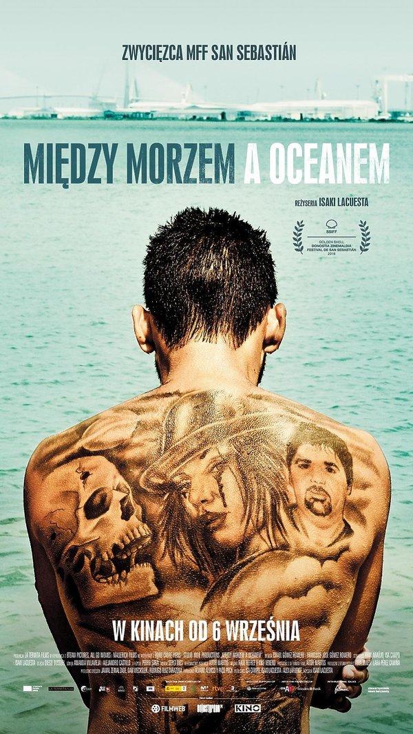 plakat filmu Między morzem a oceanem