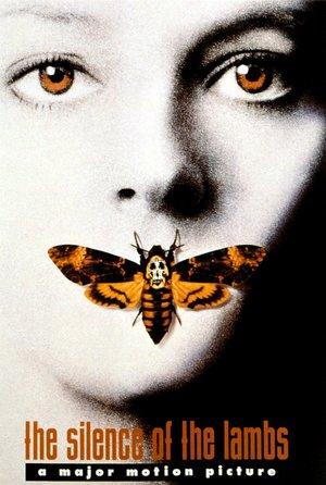 plakat filmu Milczenie owiec. Jodie Foster