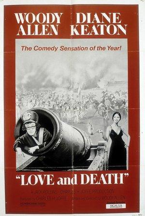 plakat filmu Miłość i śmierć