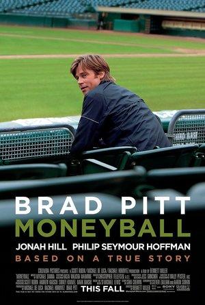 plakat filmu Moneyball, Brad Pitt