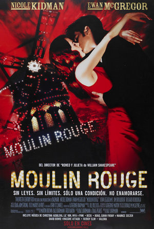plakat filmu Moulin Rouge!