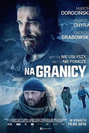 plakat filmu Na granicy, Kino Świat