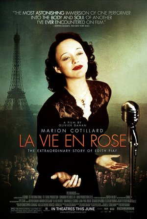 plakat filmu Niczego nie żałuję - Edith Piaf