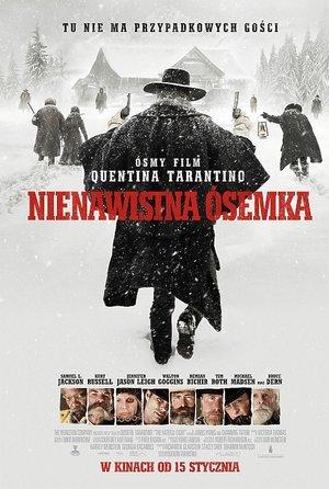 plakat filmu Nienawistna ósemka, reż. Quentin Tarantino, Forum Film Poland