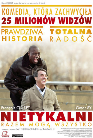 plakat filmu Nietykalni 2011