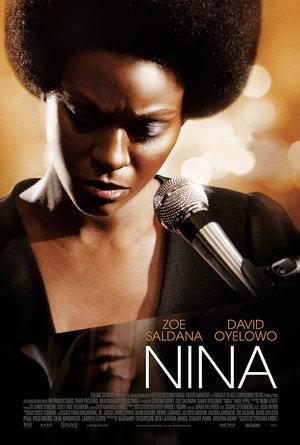 plakat filmu Nina, Zoe Saldana