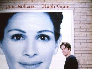 plakat filmu Notting Hill. Roger Michell