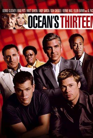 plakat filmu Ocean's 13