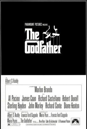 plakat filmu Ojciec chrzestny