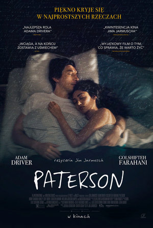 plakat filmu Paterson Jima Jarmusha