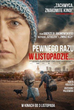 plakat filmu Pewnego razu w listopadzie