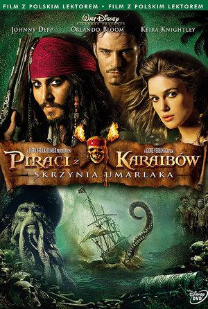 plakat filmu Piraci z Karaibów - Skrzynia umarlaka