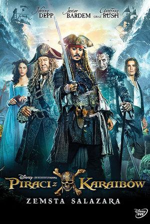 plakat filmu Piraci z Karaibów: Zemsta Salazara. Galapagos Films
