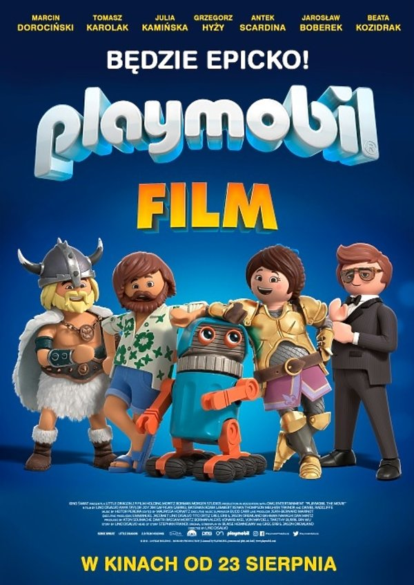 plakat filmu Playmobil: Film